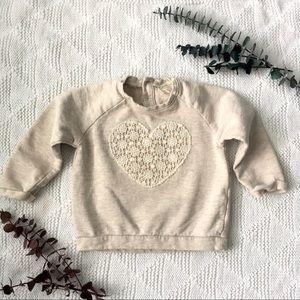 12-18m Zara Girl Sweater